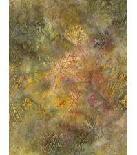 Ткань для лоскутного шитья, коллекция Tonga Batiks, цвет Patina, 25х55