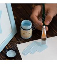 Краска акриловая Tury Design Di-7 на водной основе, флакон 60 гр, цвет  Голубая дымка