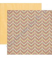 Бумага для скрапбукинга двусторонняя коллекция Adventu, 30.5х30.5 см, 220 гр/м, лист Nomad
