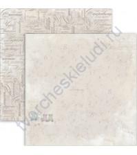 Бумага для скрапбукинга двусторонняя, коллекция Sweet Time, 30х30 см 190 гр/м, лист Чудесное время