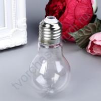 Баночка Лампочка, 75 мл, 5х5х11 см, цвет прозрачный