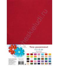 Лист фетра 21х29.7см, 1 мм, цвет малиновый