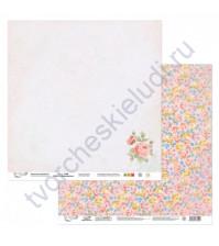 Бумага для скрапбукинга двусторонняя Вдохновение, 190 гр/м2, 30.5х30.5 см, лист 3