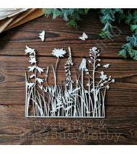 Набор чипборда Гибкие травы, 15х19 см