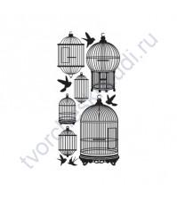 Набор натирок Timeless Bird Cages, 10х21 см