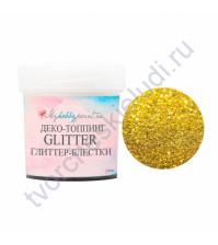 Глиттер-блестки Color Crystal Shine, 10 мл, цвет золото