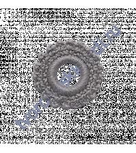 Ажурное вязаное колечко-9, цвет серый