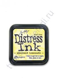 Штемпельная подушечка Tim Holtz Distress на водной основе, 5х5 см, цвет свежевыжатый лимонад (squeezed lemonade)