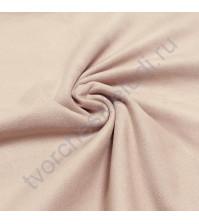 Искусственная замша двусторонняя, плотность 310 г/м2, размер 33х75 см (+/- 2см), цвет пудровый розовый