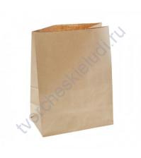 Пакет из крафт-бумаги, плотность 70 гр, 22х12х29 см