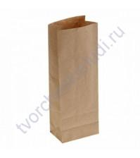 Пакет из крафт-бумаги, плотность 70 гр, 18х11х30 см
