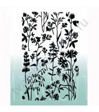 Папка для эмбоссинга Ботаника, размер 105х145 мм