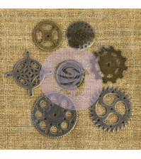 Набор металлических элементов Gear, 7 элементов