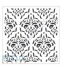 Трафарет пластиковый многоразовый Узоры, 15.5х15.5 см, толщина 0.5 мм