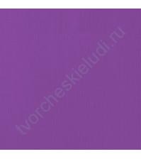 Кардсток текстурированный Виноград (Grape), 30.5х30.5 см, 216 гр/м2