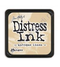 Штемпельная мини-подушечка Tim Holtz Distress Mini Ink Pads на водной основе, 2.5х2.5 см, цвет античный холст (antique linen)