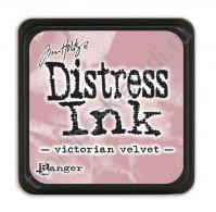 Штемпельная мини-подушечка Tim Holtz Distress Mini Ink Pads на водной основе, 2.5х2.5 см, цвет викторианский вельвет (victorian velvet)