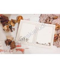 Набор чипборда Рамочки-признания, в наборе 2 рамочки