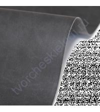 Кожзам переплетный на полиуретановой основе плотность 230 гр/м2, 50х70 см, цвет 4656-антрацит