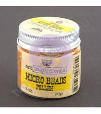 Декоративный топинг (микробисер) 57 гр, цвет пыльца