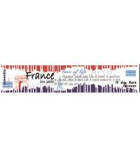 Бумажный скотч с принтом Париж! Париж!, 30мм х 8м