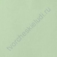 Кардсток текстурированный Курчавая мята (Spearmint), 30.5х30.5 см, 216 гр/м2