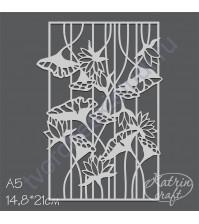 Маска Лотос, размер А5, 14.8х21 см