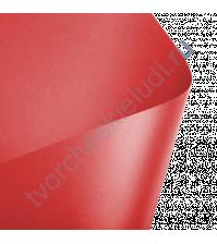 Лист гладкой дизайнерской бумаги с эффектом металлик Majestic 290 гр, формат 30х30, цвет императорский красный