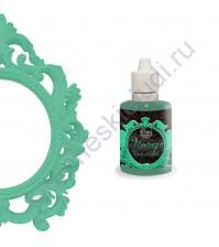 Краска с эффектом патины ScrapEgo, емкость 30 мл, цвет Зимний сад