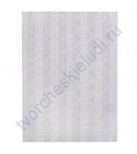 Уголки клеящиеся для фотографий пластиковые, 102 шт. на листе, цвет прозрачный на белом