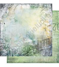 Бумага для скрапбукинга двусторонняя, коллекция Городская симфония, лист 003