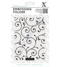 Папка для эмбоссинга Изысканные завитки (Delicate Flourishes), А6
