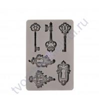 Форма силиконовая (молд) Keys and Ley holes, 12.7x22.8 см