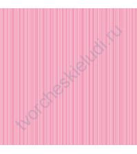 Кардсток односторонний текстурированный Полоски, 30.5х30.5 см, 216 гр/м, цвет нежный розовый