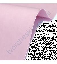 Кожзам переплетный на полиуретановой основе плотность 230 гр/м2, 50х35 см, цвет F141-розово-сиреневый