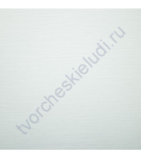 Бумага тисненая Лен, 200 гр/м2, формат А3 (297х420), цвет белый