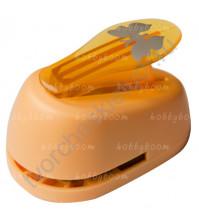 Фигурный дырокол (компостер) Бабочка-2, размер 2.5 см
