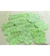 Мини-гортензия 2.5-3 см, 10 шт, цвет мятный